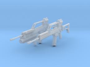 1/10.5 Heckler Koch Gewehr G36 Set101 in Smooth Fine Detail Plastic
