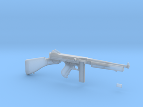 1/4 Scale 1941 Thompson Submachine Gun in Smooth Fine Detail Plastic