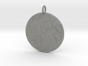 Moonscape Pendant in Gray Professional Plastic