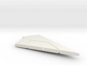 F-111A-144scale-WingsBack-04-Stabilizer-Left in White Natural Versatile Plastic