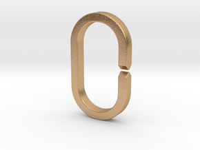 LARGE RING (Quick-Release Key System) in Natural Bronze