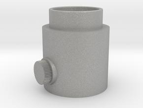 Button Knob in Aluminum