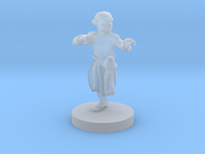 Gnome Monk in Smooth Fine Detail Plastic