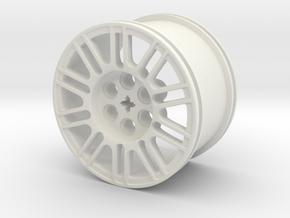GOLF GTI TCR WHEEL V2 in White Natural Versatile Plastic