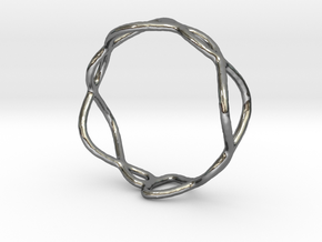 Ring 01 in Polished Silver