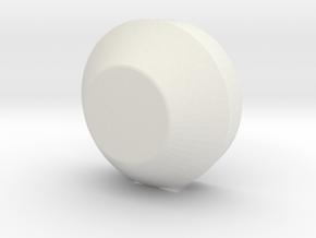 Masterpiece Ratchet ear piece. in White Natural Versatile Plastic