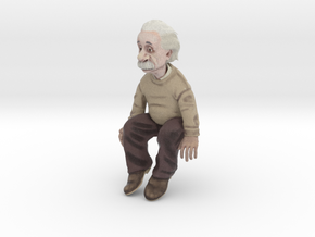 Einstein desk buddy in Natural Full Color Sandstone