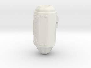 Sons Jet Pack - Left Booster in White Natural Versatile Plastic