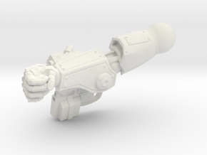 Fireborn UGAL - Right Arm  in White Natural Versatile Plastic