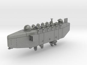 Last Exile. Anatoray Battleship in Gray Professional Plastic