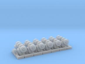 SPMT 12 Achslinien komplett 1:120 TT in Smooth Fine Detail Plastic