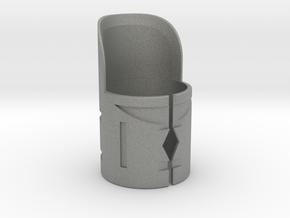 Emitter Shroud - Phasm in Gray Professional Plastic