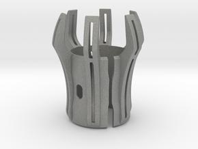 Emitter Shroud - Oppressor in Gray Professional Plastic