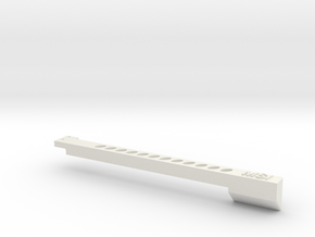970 Card sag holder in White Natural Versatile Plastic