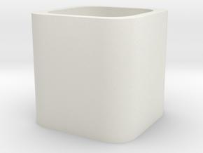 Stationery(pen holder 1) in White Natural Versatile Plastic