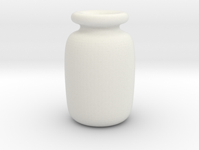 bottle in White Natural Versatile Plastic