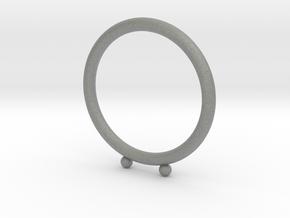 Umlaut Ring 1 - ö in Gray PA12: 3 / 44