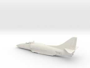 A-4F-BlueAngel-144scale-01-Airframe in White Natural Versatile Plastic