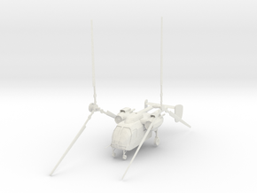 Kamow Ka-26 (Transport) 1/87 in White Natural Versatile Plastic