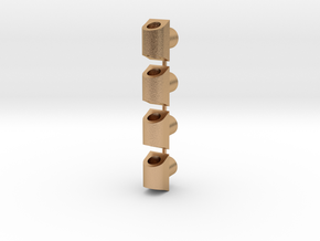Wire Clips for Korbanth Crossguard 2.0 in Natural Bronze