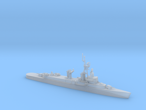 1/700 Scale 3 Pole DDE 1950 in Smooth Fine Detail Plastic