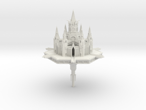 Hexathedral Assault Citidel in White Natural Versatile Plastic