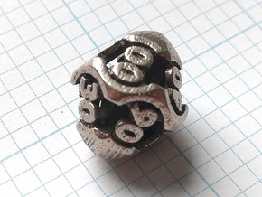 Chord Die10 Decader in Polished Bronzed-Silver Steel