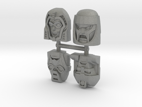 Gobots Renegade Faces Four Pack in Gray PA12