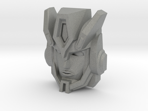 Cybertron Override Faceplate (Titans Return) in Gray Professional Plastic
