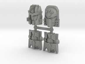 Beast Wars Face 4-Pack (Titans Return) in Gray Professional Plastic