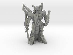 Waruder BlueStar, Battle Ready, 35mm Mini in Gray PA12: Medium