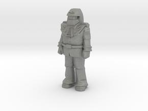 Miles Mayhem, standing, 35mm Mini in Gray PA12
