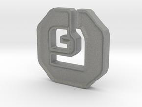 Shanix Coin in Gray PA12: Medium