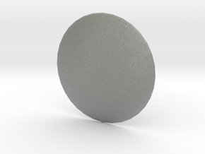 Round Custom Symbol Shield, 3mm in Gray PA12