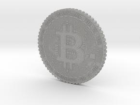 Bitcoin Coin #1 in Aluminum