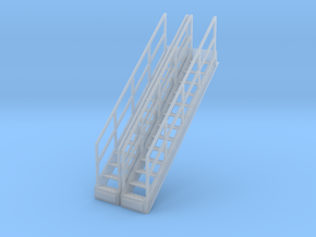 1/64 Stairs for 15' Tower 2pc in Smooth Fine Detail Plastic