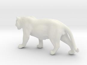 Tiger 1/60 in White Natural Versatile Plastic