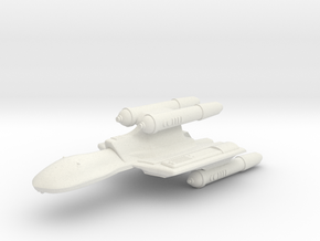 3788 Scale Romulan NovaHawk-K Command Cruiser MGL in White Natural Versatile Plastic