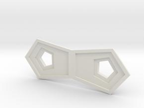Small Stand  in White Natural Versatile Plastic