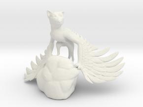 Domesticated Griffin in White Natural Versatile Plastic