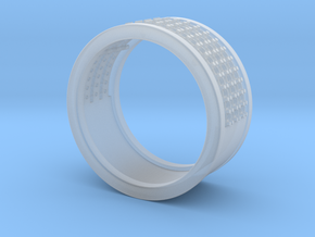Wedding ring in Smooth Fine Detail Plastic