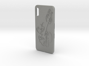 cases iphone x music guitar  in Gray PA12