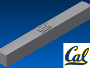 University of California Spacebar Keycap (6.25x) in White Natural Versatile Plastic