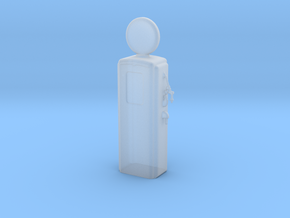O Scale Old Gas Pump in Smooth Fine Detail Plastic