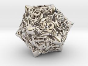 Cthulhu D20  in Platinum