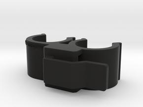 Fuel Line Holder Mk.2 in Black Natural Versatile Plastic