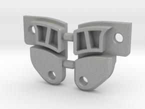 SCX10 Rear Upper Link Riser - Extended (EXT-RULR) in Aluminum