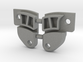 SCX10 Rear Upper Link Riser - Extended (EXT-RULR) in Gray Professional Plastic