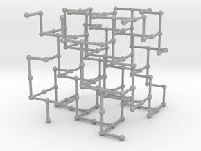 Haugland's grid subgraph no. 3 in Aluminum