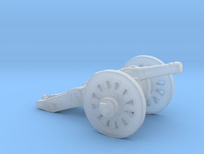 S Scale Cannon in Smooth Fine Detail Plastic